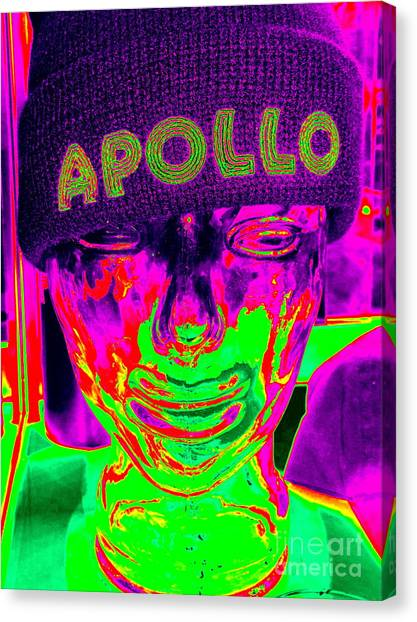Apollo Theater Canvas Print - Apollo Abstract by Ed Weidman