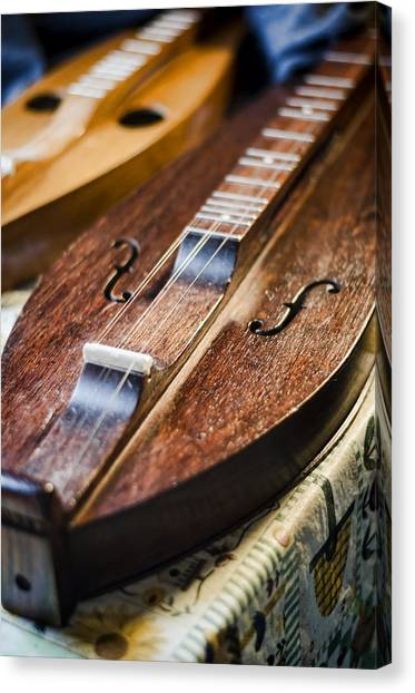 Appalachian Dulcimer Canvas Print