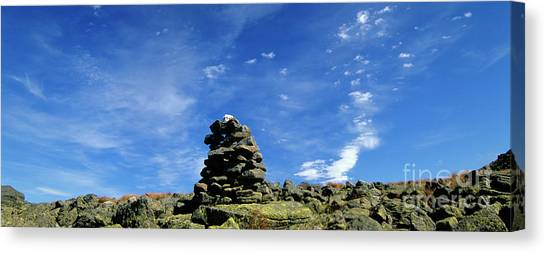 Canvas Print featuring the photograph Appalachian Trail - White Mountains New Hampshire by Erin Paul Donovan