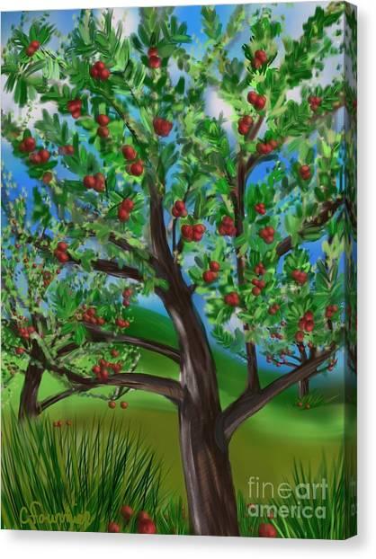 Apple Acres Canvas Print