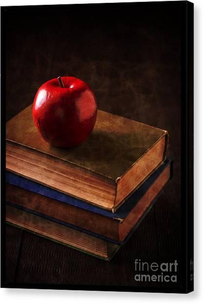 Professors Canvas Print - Apple For Teacher by Edward Fielding