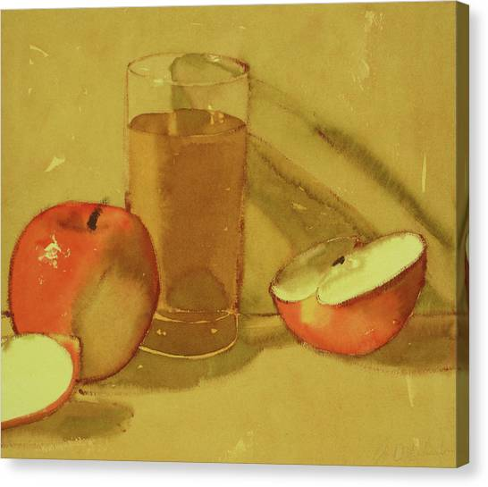 Apple Juice Canvas Print