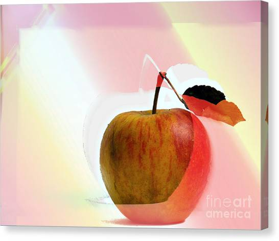 Apple Peel Canvas Print