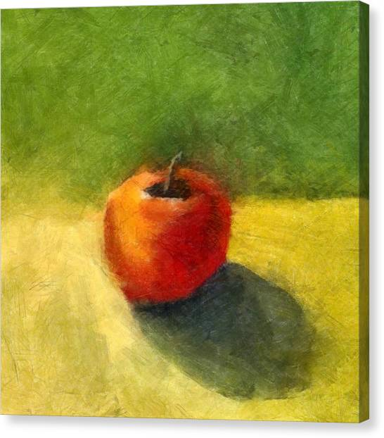 Apple Still Life No. 98 Canvas Print