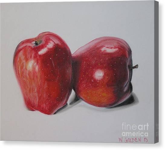 Apple Study Canvas Print