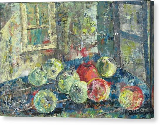 Apples - Sold Canvas Print