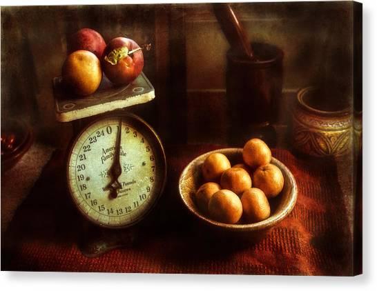 Apples To Oranges Canvas Print
