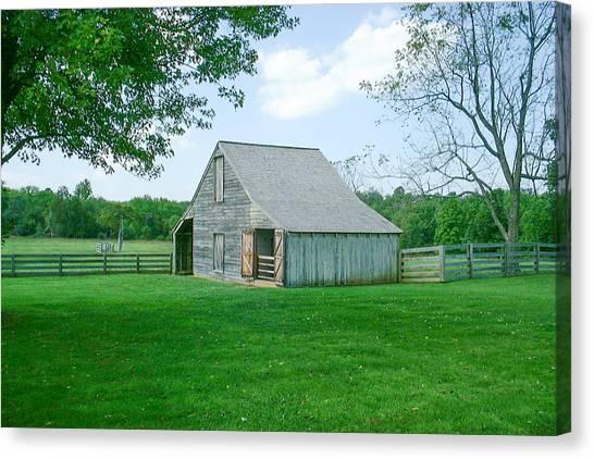 Appomattox Barn Canvas Print