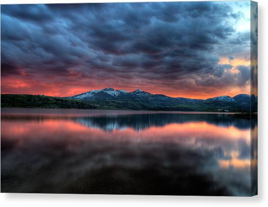 Approach To Mordor Canvas Print