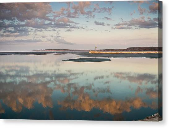 April Reflections  Canvas Print