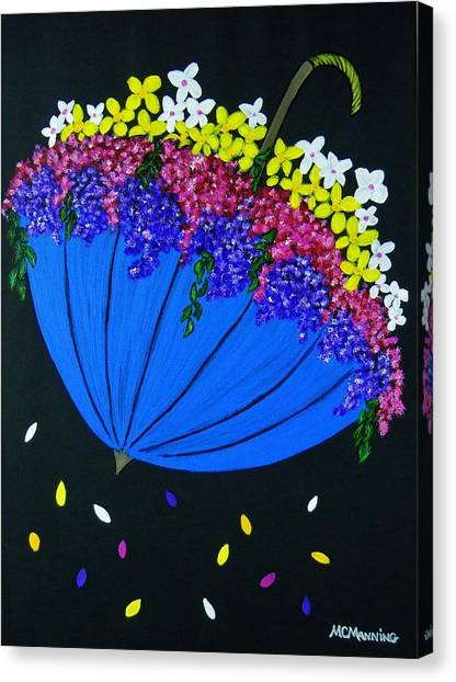 April Showers... Canvas Print