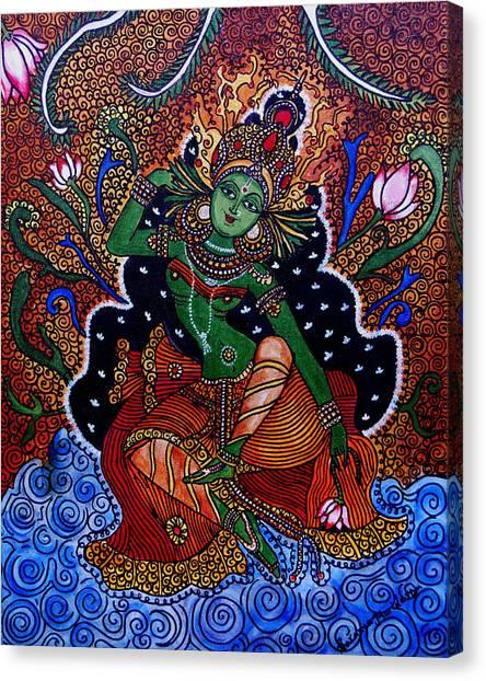 Apsara Canvas Print