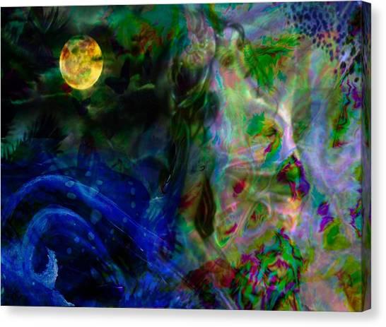 Aqua Lover Canvas Print