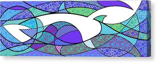 Aqua Seltzer Canvas Print