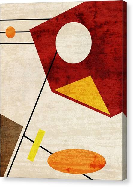 Retro Canvas Print - Aquarius by Richard Rizzo