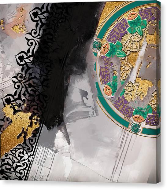 Iranian Canvas Print - Arabesque 3a by Shah Nawaz