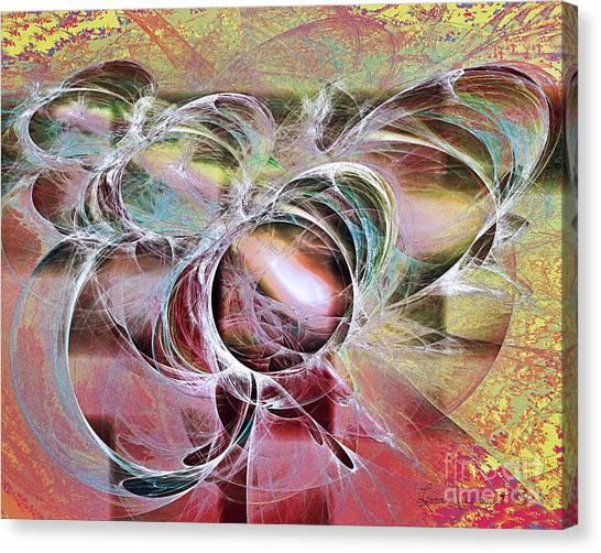 Arabesque Design Canvas Print by Leona Arsenault