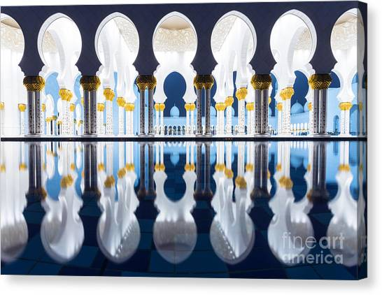 Modern Architecture Canvas Print - Arabian Nights by Matteo Colombo