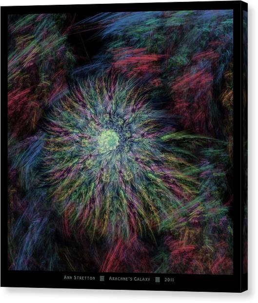 Arachne's Galaxy  Canvas Print