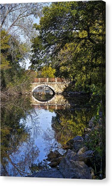 Arboretum Drive Bridge - Madison - Wisconsin Canvas Print