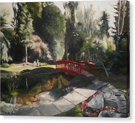 Arbour Bridge Canvas Print