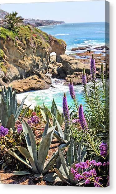Arch Rock Laguna Canvas Print
