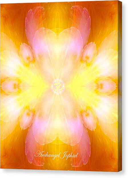 Archangel Jophiel Canvas Print