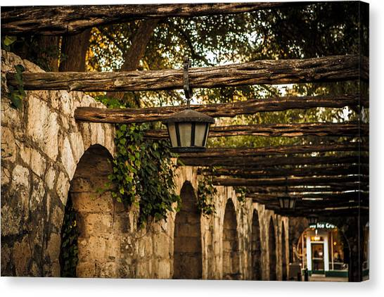 Arches At The Alamo Canvas Print