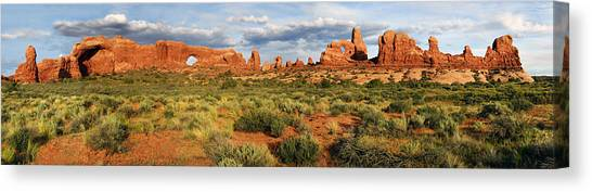 Arches National Park Panorama Canvas Print