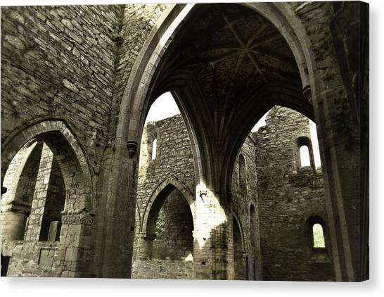 Arches Of Ages - Jerpoint Abbey Canvas Print