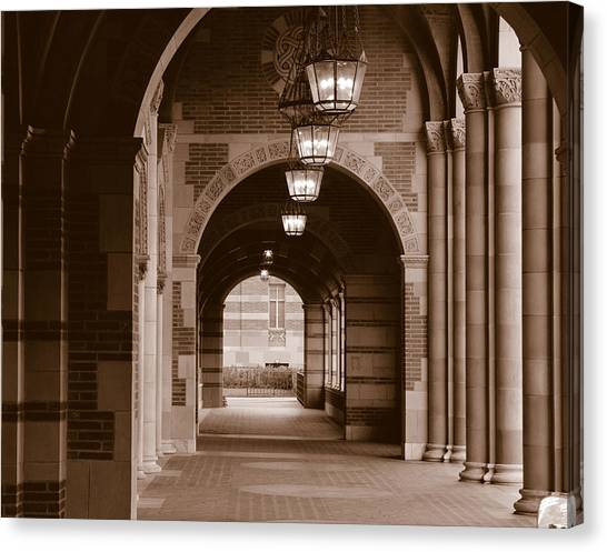 Ucla Canvas Print - Arches Of Royce Hall, University by Panoramic Images