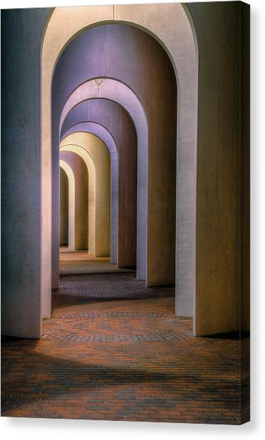 Arches Of The Ferguson Center Canvas Print