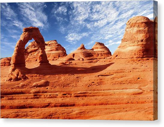 Arches Canvas Print by Wsfurlan