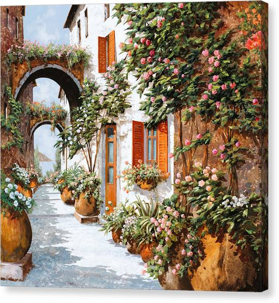 Shutter Canvas Print - Archi E Orci by Guido Borelli