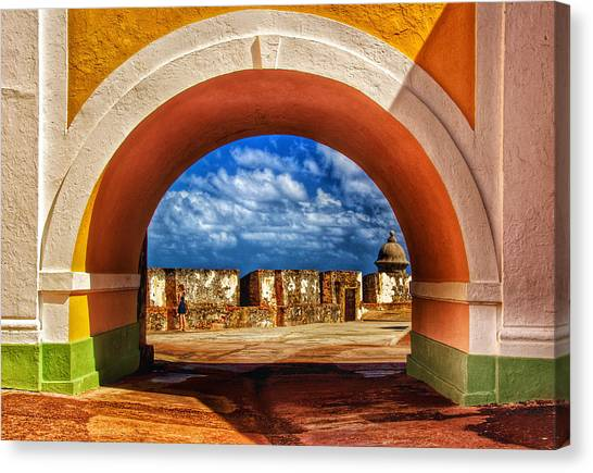 Arching Canvas Print by Kathi Isserman