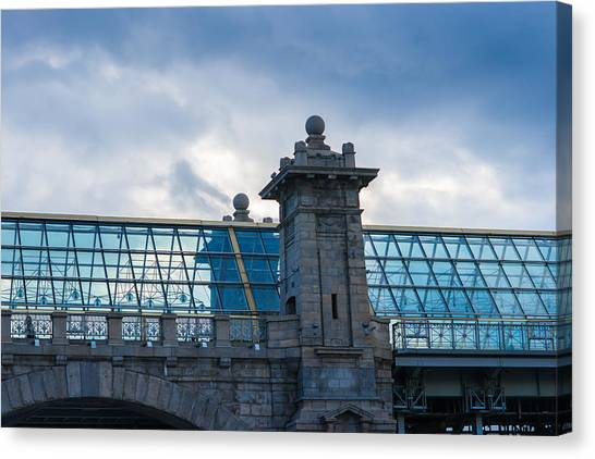 Architectonics Canvas Print - Architectonics 2 - Featured 3 by Alexander Senin