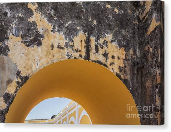 Architectural Detail At Castillo San Felipe Del Morro Canvas Print