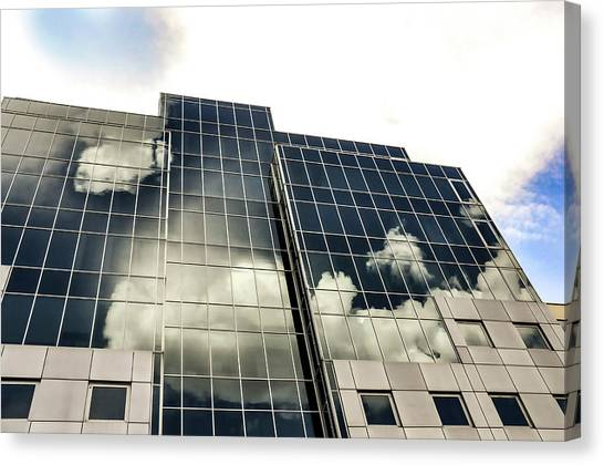 Architectural Image Screen Canvas Print by Howard Pugh (marais)