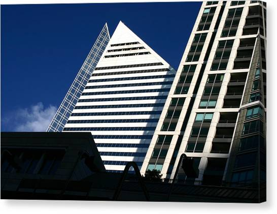 Architectural Pyramid Canvas Print