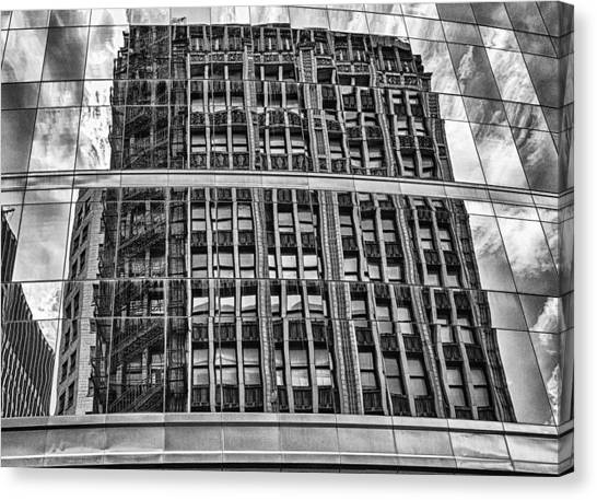 Architectural Reflection 2 Canvas Print
