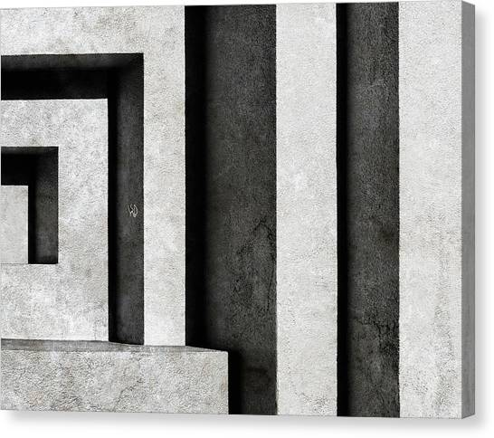 Architectural Signs II Canvas Print by Luc Stalmans