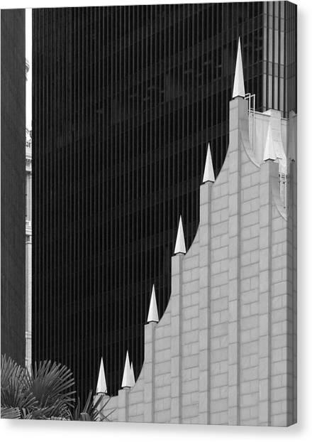 Architectural Trendlines Canvas Print