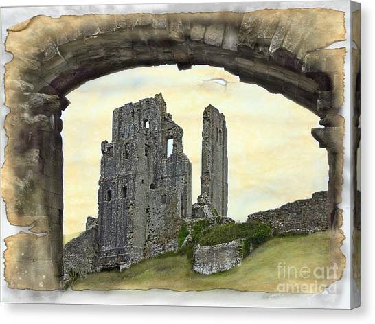 Archway To History Canvas Print
