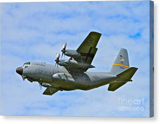 National Guard Canvas Print - Arctic Flight by Rick  Monyahan
