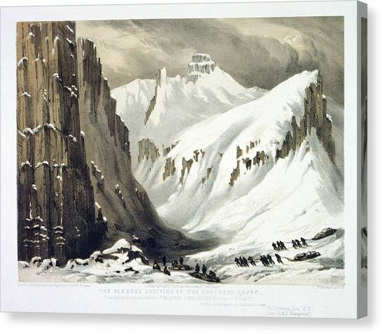 English And Literature Canvas Print - Arctic Landscape by British Library