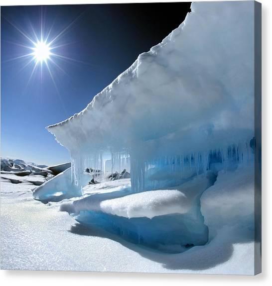 Nunavut Canvas Print - Arctic Landscape by Louise Murray