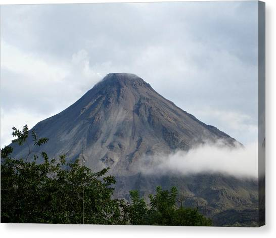 Arenal Volcano Canvas Print - Arenal by Sean Foreman