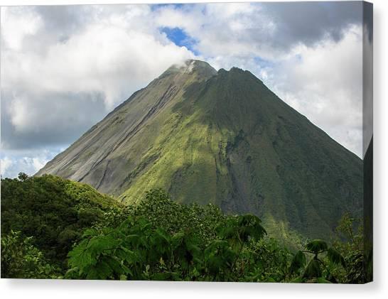 Arenal Volcano Canvas Print - Arenal Volcano Active Volcano by Matt Andrew