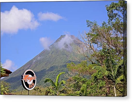Arenal Volcano Canvas Print - Arenal Volcano Costa Rica by Allan Einhorn
