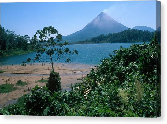 Arenal Volcano Canvas Print - Arenal Volcano, Costa Rica by Kenneth Murray
